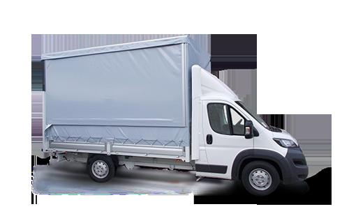 Noleggio lungo termine Peugeot BOXER 335 2.0 BLUEHDI 130CV FAP PLM CASSONATO TELONATO +  Clima man. e cassetto portaoggetti ant. refrigerato
