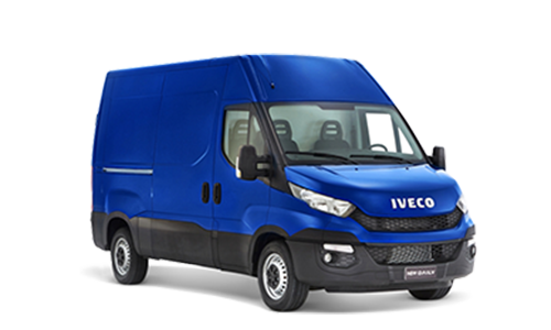 Noleggio lungo termine Iveco DAILY 35C12V BTOR 2.3 HPT PM-TM-RG FURGONE + Pack Ver. Daily Business + Radio Bluetooth MP3