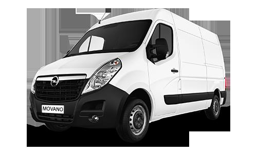 Noleggio lungo termine Opel MOVANO 33 2.3 CDTI 170CV MTA S&S PM-TA FWD FURGONE + Clima Pack